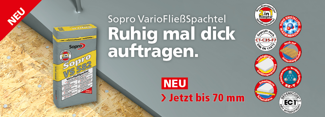 VarioFließSpachtel - VS 582